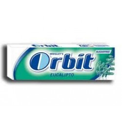 CHICLE ORBIT EUCALIPTO SIN AZUCAR