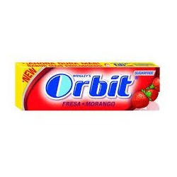 CHICLE ORBIT FRESA SIN AZUCAR