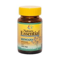 HINOJO,NATURE ESSENTIAL,400 MG ,50 CAPSULAS